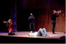 I Fagiolini in performance at Snape Maltings