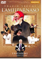 Cover of I Fagiolini's DVD of L'Ampifarnaso