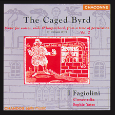 The Caged Byrd - CD cover