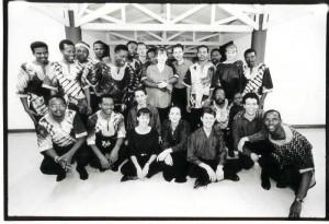 1st meeting: April 1995, Funda Arts Centre, Soweto